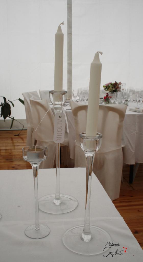 Décoration chandelier table d'honneur.Mariage.Organisatrice.toulouse