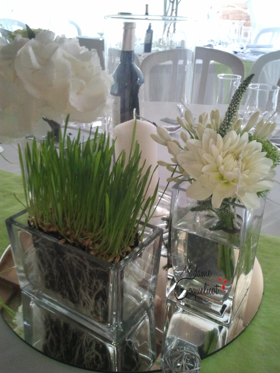 Centre de table Fleuriste : Poppy Figue Flower Wedding Planner Madame Coquelicot