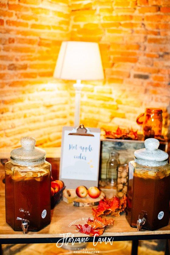 décoration bar à boissons mariage Toulouse