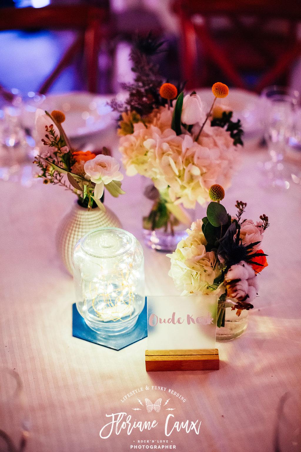 centre de table mariage d'hiver toulouse