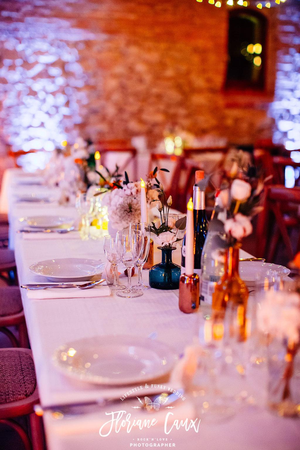 centre de table d'honneur mariage Toulouse